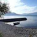 turquie : lac d'egirdir