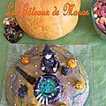 Gâteau de sorcière d'halloween