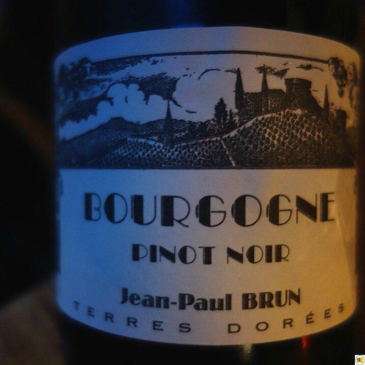 Bourgogne Pinot Noir Jean-Paul Brun 2014 (1)