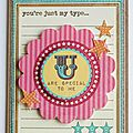U are special to me card 002