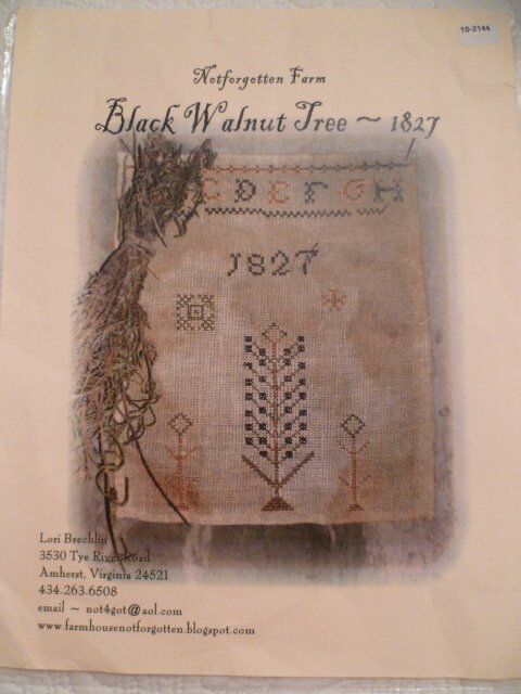 Grille 10: Not Forgotten Farm Black Walnut Tree