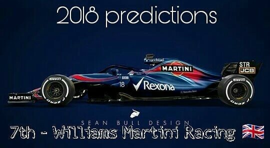 WILLIAMS MARTINI RACING 2018