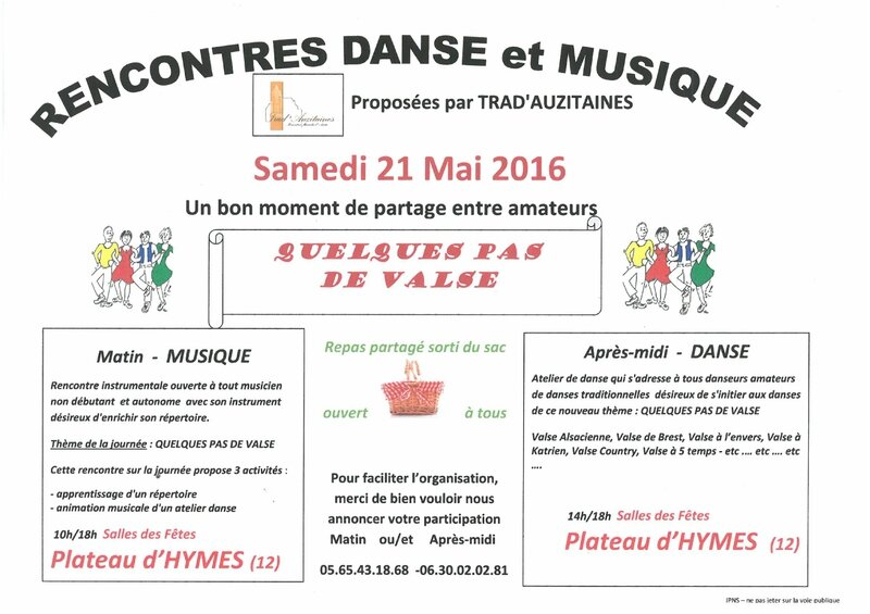 image Flayer Rencontre 21 Mai 2016