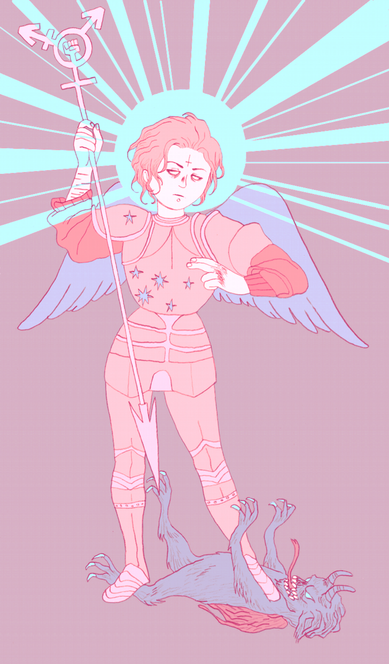 queer angel blog