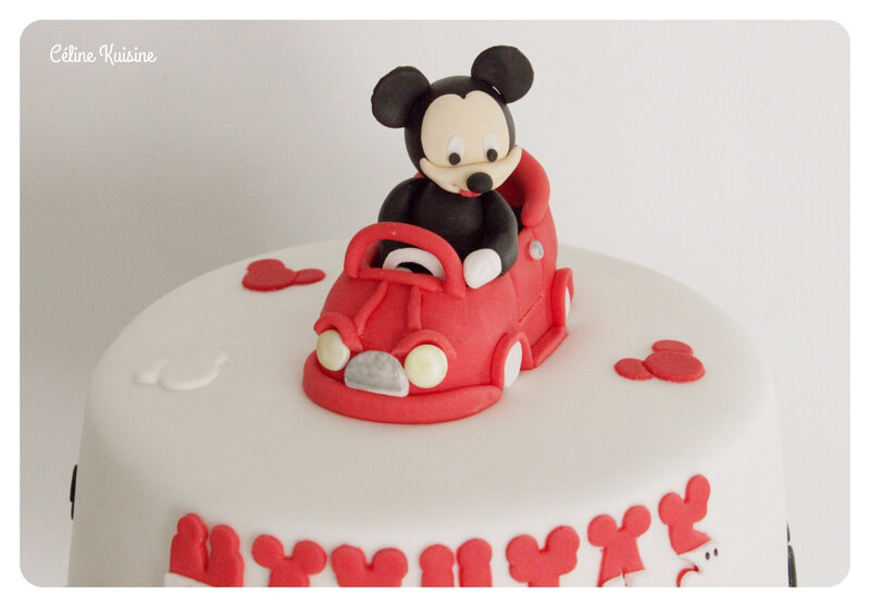 gateau mickey 4