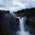 Carte postale de snoqualmie falls