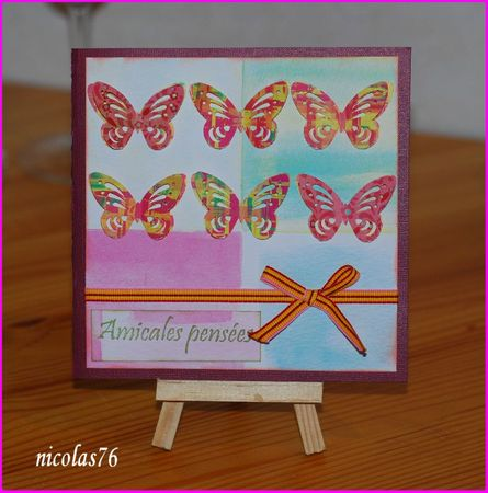 Scraplift carte de clotilde