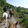 balade à cheval médiévale - Abbaye de Hambye (23)