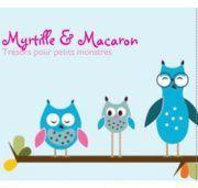 Myrtille & Macaron