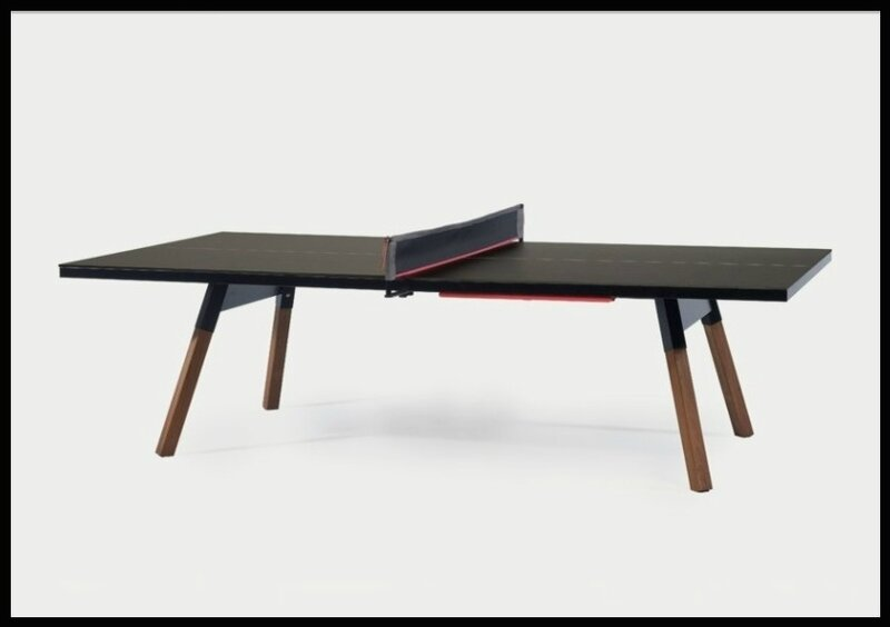 Table double fonction repas ping pong kollori le for Table de ping pong interieur