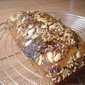 Cake banane-chocolat version santé - 2,5pts/part