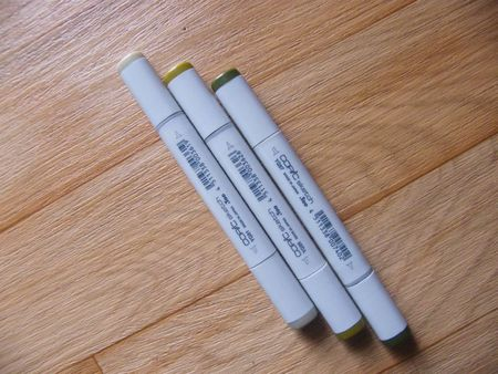 copic verts
