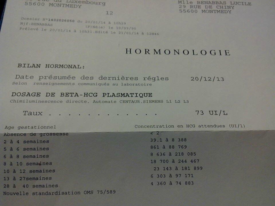 Semaine 2 de grossesse mes essais b b - Fausse couche precoce 2 semaines ...