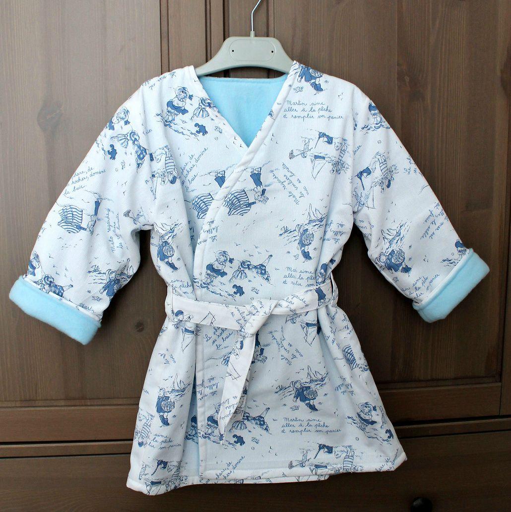 Douillette robe de chambre crabig et brinig for Ikea plaid polaire blanc