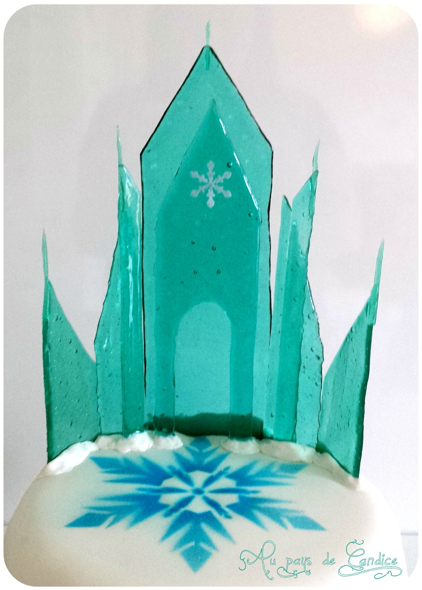 Tutoriel du ch teau de glace de la reine des neiges au for Chateau la reine des neiges