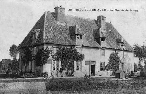 Biéville-en-Auge - manoir de Bougy
