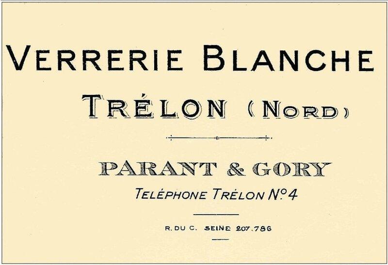 TRELON-Verrerie Blanche