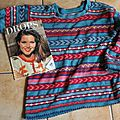 Un pull en coton des années 90