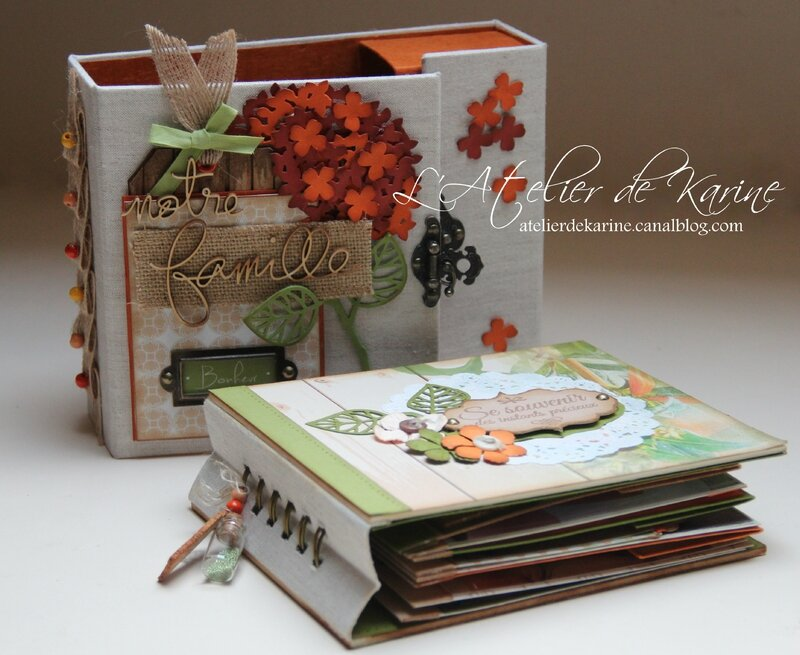 Mini Album et son coffret - Pure Lorelaïl Design 22