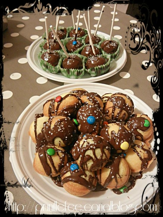cake pops et ball cake