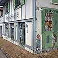 Pharmacie léon landes peinture murale