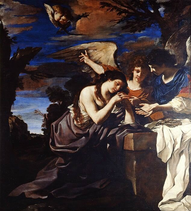 Giovanni Francesco Barbieri, known as Guercino, Saint Mary Magdeleine Penitent, 1622