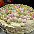 Carrot cake /pâques