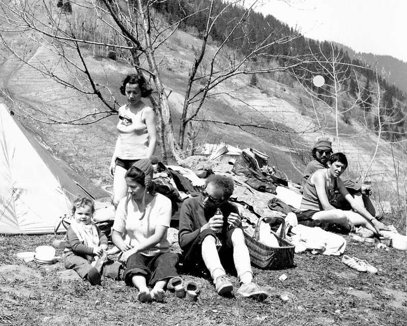 26-27 avril 1975 Bivouac Celliers -