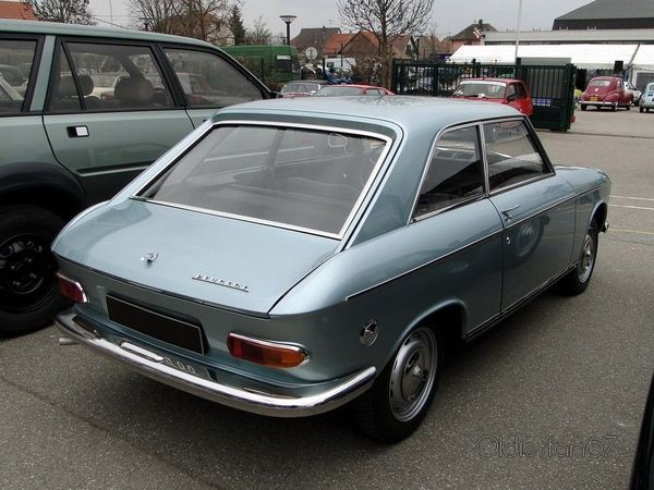 peugeot 204 coupe 1966 1970 2