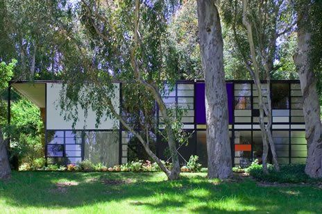 Eames house also known as case study house no 8 for Icon mobel eames