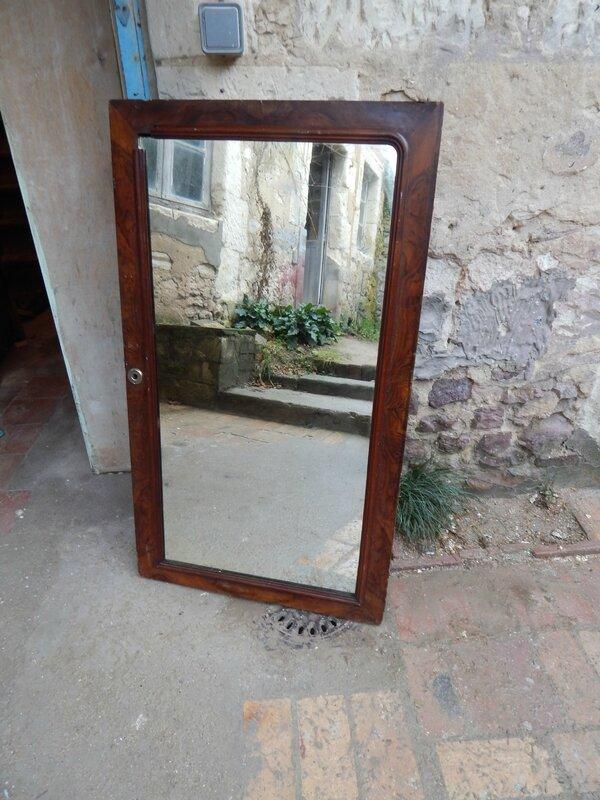 Miroir ancien la petite brocanteuse for Miroir paris 18