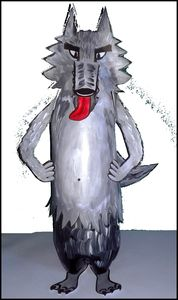 96_Personnages Animaux monstres_Le grand méchant loup (cadré)