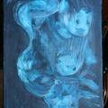 Les doudous acrylique format 5f 35x27