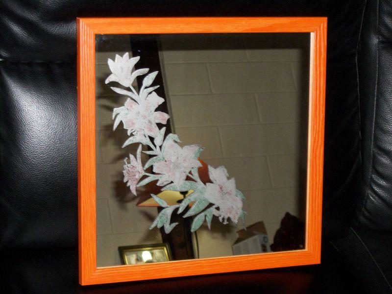 Gravure sur miroir album photos bois verre creation for Gravure sur miroir