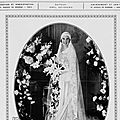 Montocchio Solange & Tostee_mariage 1930_Les Modes Paris