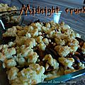 Midnight crumble : un crumble à la ratatouille