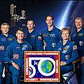 L'iss avec 6 astronautes à bord, sera visible les prochains soirs dans le 66