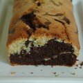 Cake marbr au chocolat et citrus limonum, sans bl, possible sans lait