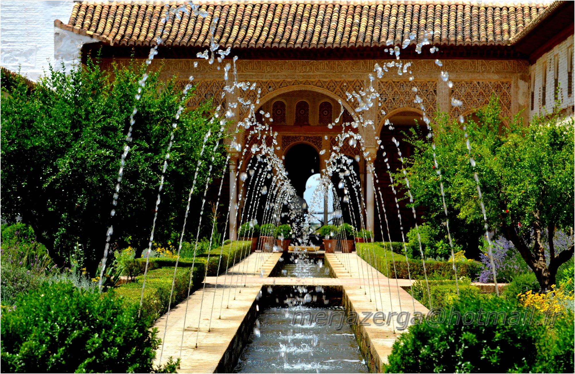 Alhambra la vie est un voyage for Le jardin l experience
