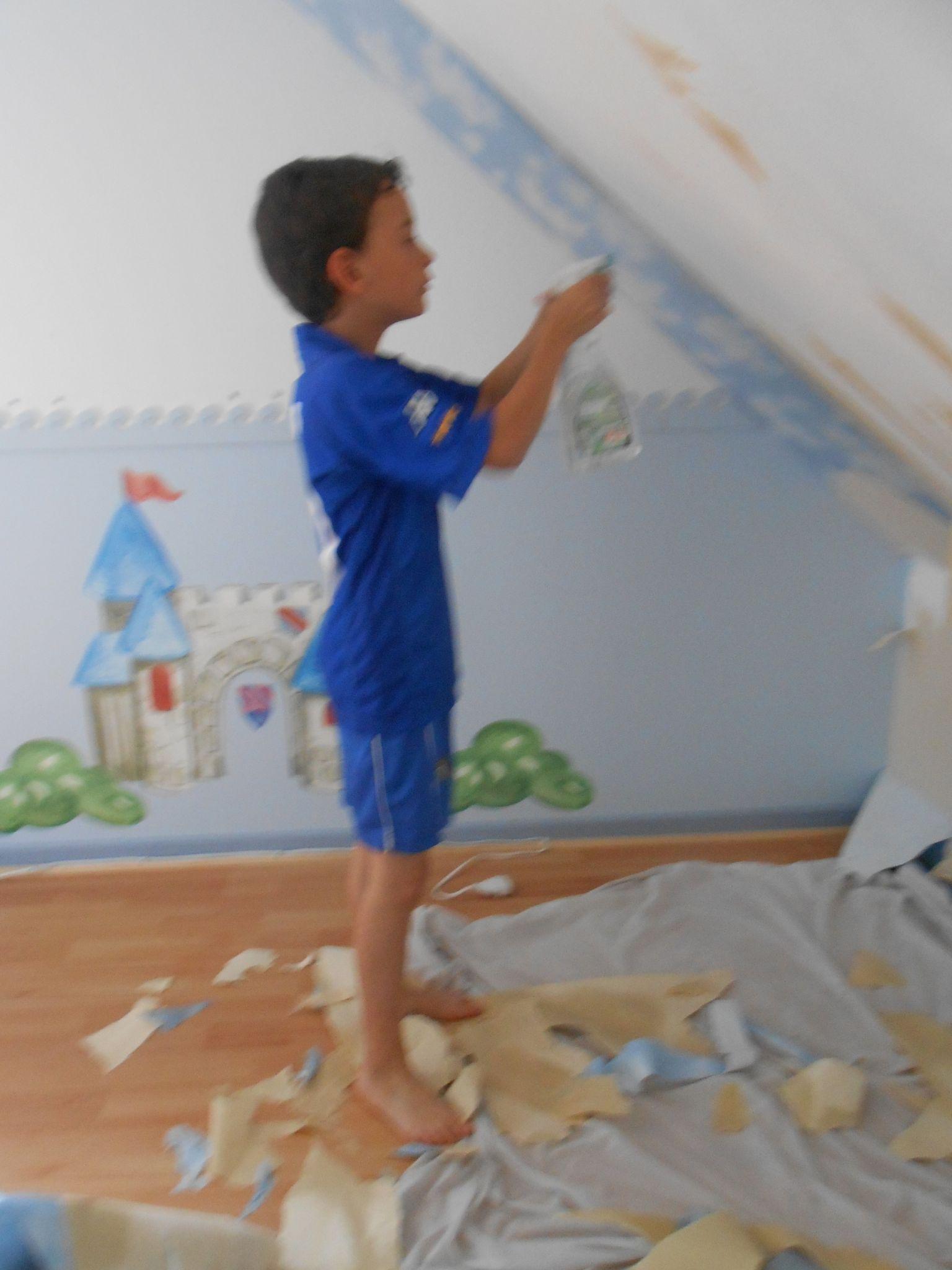 Dcoller une tapisserie gallery of decoller papier peint - Comment enlever de la tapisserie facilement ...