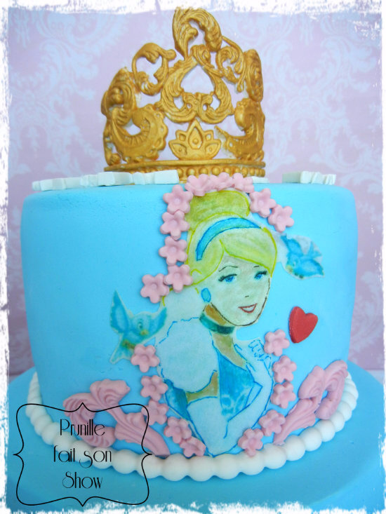 gateau étages cendrillon prunillefee 3