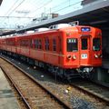 Keisei 3300 (3309-12) Fire-orange color, 100th anniversary
