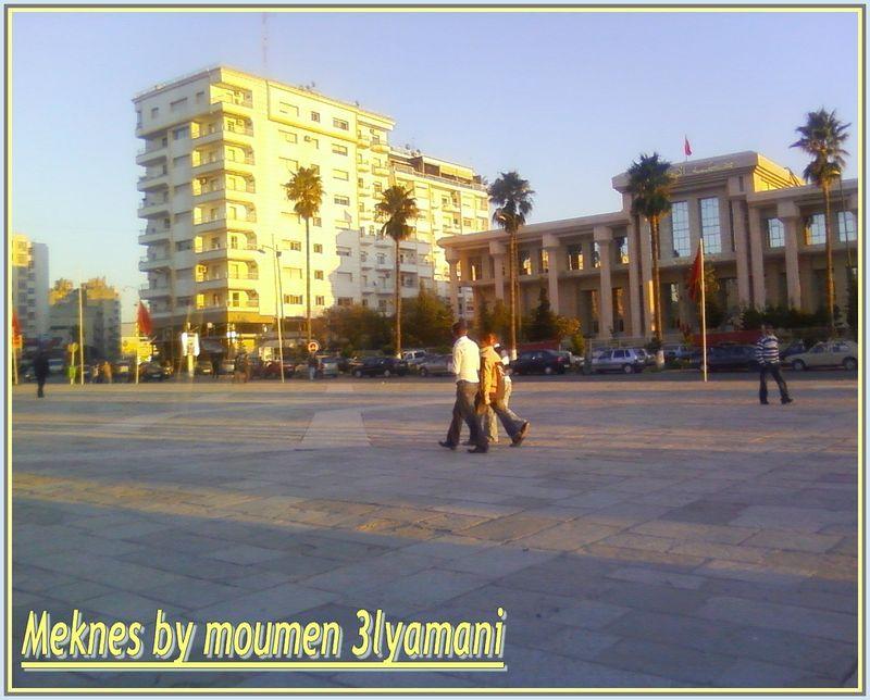 Place admin Meknes