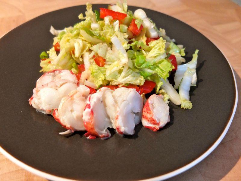 Entree au homard essai d 39 entr e pour no l jour apr s - Cuisiner avec se que j ai dans mon frigo ...
