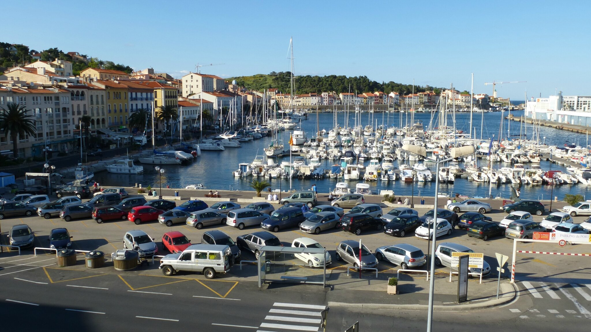 le de la c 244 te vermeille port vendres trotting