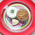 Dahl de lentilles corail {bollywood kitchen}