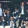 Rafa nadal celebrates goal by cristiano ronaldo