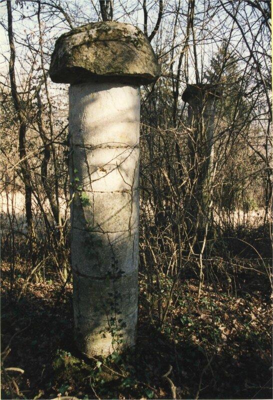 piliers à Vignéras