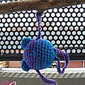 #crochet : modèle perso d'#amigurumi pour cours de crochet