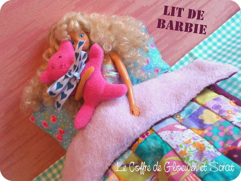Couture Lit de Barbie by Gloewen (8)